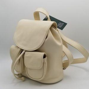 Wild Fable Cream Drawstring Mini Backpack Purse